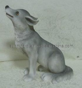 China Polyresin Dog Figurines Decoration (SFR1689) on sale