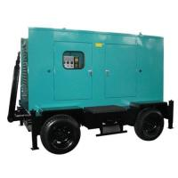 China Supply Cummins diesel generator sets 400KW-silent trailer typed on sale