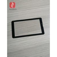 China china glass factory OEM 5inch cover lens 0.7mm with 2.5d polished edges CNC processed for touch panel PC for sale
