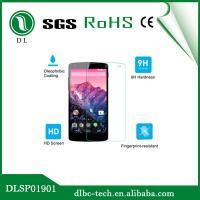 High Clear Scratch Resistant Tempered Glass Google Nexus 5 Screen Protector Manufactures