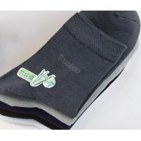 Mens Bamboo Solid Color Socks Manufactures
