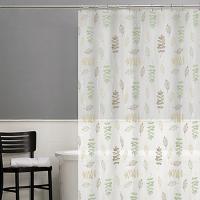 China PVC Free PEVA Stylish Waterproof Shower Curtain For Personal Apartment on sale