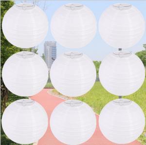 China White Lantern Wholesale, Spot Wedding Paper Lanterns, Children's Drawing Lanterns, Customized Handmade DIY Lighting on sale
