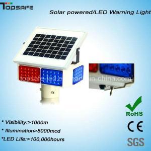 Traffic LED Solar Powered Blinking Warning Light Manufactures