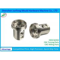 Quality High Precision CNC Machine Parts 7602000010 HS Code Alumninum Material for sale