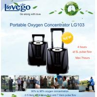 14 hours battery Lovego Medical Use Portable Oxygen Concentrator/Oxygen Generator LG103 for 7LPM Oxygen therapy Manufactures