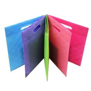 Customized Non Woven Shopping Bag D Cut Carry Bag Environmental Protection Manufactures