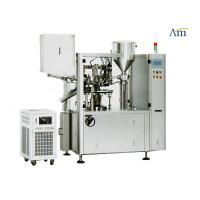 Automated Plastic Tube Filling And Sealing Machine No Stirrer PLC Controlled Manufactures