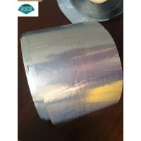 China Silver Waterproofing Roof Flashing Tape / Bitumen Flash Band with Butyl Rubber Adhesive on sale