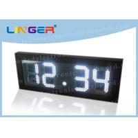 Remote Control Digital Gas Price Signs Iron / Steel Frame 2 Years Warranty Manufactures