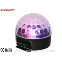 RGB / RGBWA  Disco LED  Lights Sound Activated For Party , Led Crystal Magic Ball Light VS-26+ Manufactures
