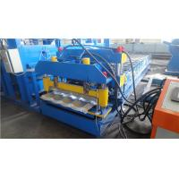 Buy cheap PLC Control Systerm Roof Glazed Tile Roll Forming Machine For Construction from wholesalers