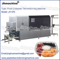 China Food Container theromoforming machine, Automatic within cutting and stacking device on sale