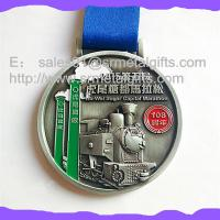 Buy cheap Metal Championship medal with ribbion, enamel sports event medals factory from wholesalers