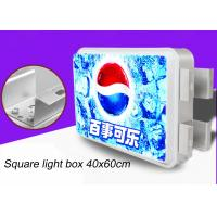 Double Sided Rectangular Vacuum Forming Light Box For Outdoor Advertising 40x60cm Manufactures