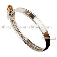 China Germany type hose clamp,Germany style hose clamp,stainless steel hose clamp on sale