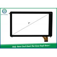 Tablet PC 7'' P + G Capacitive Touch Panel / Touch Screen With 1.1mm ITO Glass Manufactures