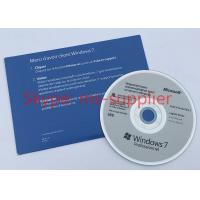 OEM 64 Bit Computer System Softwares , Microsoft Win 7 Pro DVD / VD Data Manufactures