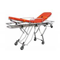 Multifunctional Aluminum Alloy Automatic Stretcher Ambulance Stretcher Trolley ALS-S015 Manufactures
