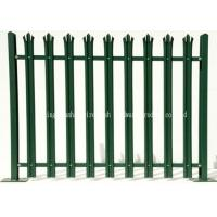 Powder Coating Security Metal Palisade Fencing Easily Assembled Rodent Proof