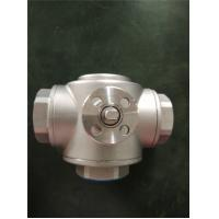 HVAC Use 2 Way And 3 Way Female Gas Ball Valve , Mini Brass Ball Valve Manufactures