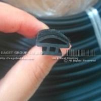Flocked Glass Run Channel EPDM Rubber Seal Manufactures