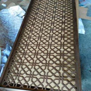 hot sale aluminium decorative wall panel metal perforated aluminium screen partition Manufactures