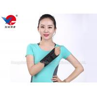 Medical Aluminum Alloy Wrist Support Brace Black Air Permeable  For Left And Right Manufactures