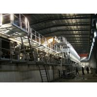 Waste Paper 3 Ply Automatic Corrugated Box Plant High Speed With Pulp Manufactures