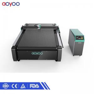 Automatic CNC oscillating knife corrugated paper cardboard box sample cutting machine suppliers Manufactures