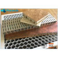 Durable Flame Resistant Honeycomb Material Aluminum For Heater Lattice Grid Manufactures