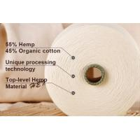 OE Blended Certificate Hemp/Organic Cotton Blended Yarn 21S for hemp pants Manufactures