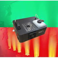 Quality 1500w LED Rgb Smoke Machine Remote Control DMX Fogger Machine for Wedding for sale