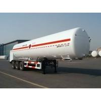 45000L-3 Axles-Cryogenic Liquid Lorry Tanker for Liquid Ethylene Manufactures