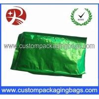 Green Side Gusset Aluminum Foil Coffee Packaging Bags with Hot Seal Manufactures