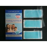 China fever cooling gel patch forfor baby/adult fever reducing patch on sale