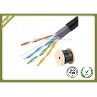 Outdoor Shielded Network Fiber Cable Cat5e UTP Cable 305M 0.5mm Diameter Manufactures