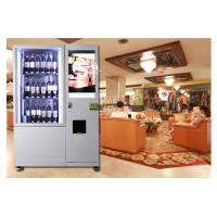 Alcohol Salad Juice Vending Machine With Elevator , Automated Self Service Vending Machines Manufactures