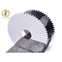 Sharpening Tungsten Carbide Circular Saw Blades , Metal Cutting Circular Saw Blade Manufactures