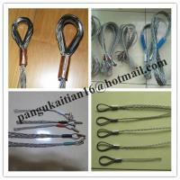 Double-head, single strand Cable grip,Cable socks,Pulling grip,Support grip Manufactures
