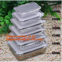 China Disposable Aluminium Foil Tray, Container for Food Packaging, foil lunch box, aluminum lunch box, foil bowl, deli tray on sale