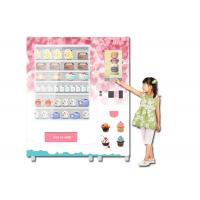 Refrigerated Cooling Food Vending Machine , Healthy Meal Vending Machine With Microwave Manufactures