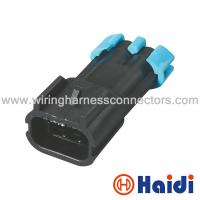 China 2 Way Male Auto Wiring Harness Connectors GM Delphi Sensor Plug  15300027 on sale