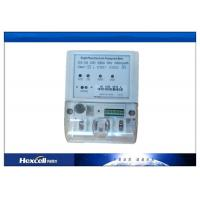 STS Prepaid Energy Meter Emergency Credit , Single Phase Two Wire Static Energy Meter Manufactures