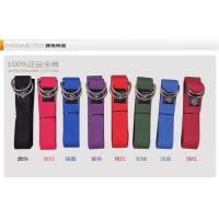 Quality Yoga Belt For Posture D - Ring Buckle Cotton , Stretches With Yoga Strap for sale
