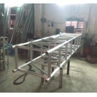 Silver Straight Large Heavy Project Stage Lighting Truss 520*760mm Manufactures