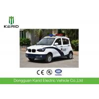Modern 72V 3.5KW Electric Patrol Car , Closed Smart Security Patrolling Vehicles Manufactures