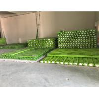 Reinforced PPR Fiberglass Composite Pipe Green Color With Hot Melting Connection Manufactures