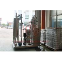 Soft Drink Water Making Machine Two Tanks Carbonated Water Bottle Filling Manufactures