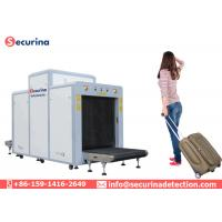 Metro Station X Ray Baggage Scanner Diagnostic Type Adjustable Conveyor Height Manufactures